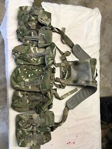 British Army MTP Plce Webbing Set Excellent Unused