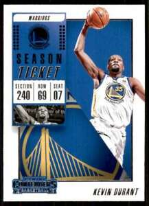2018-19 Panini Contenders Kevin Durant Golden State Warriors #8