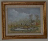 Peter Jamieson (b 1945 British) The Walled Garden at Felbrigg Painting Signed