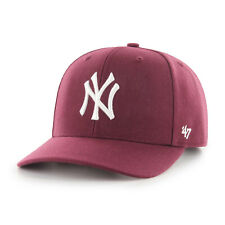MLB New York Yankees Ny N.y. Casquette Basecap Cold Zone Dp Maroon 192915076420