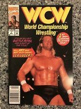 WCW: World Championship Wrestling #1 NM- (Marvel 1992) Lex Lugar Photo Cover