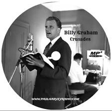 BILLY GRAHAM CRUSADES (31 SERMONS) MP3 2-CD'S