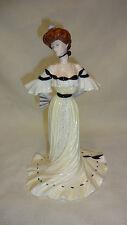 Limited Edition Coalport Golden Age Figure/Figurine - Alexandra At The Ball