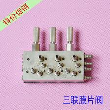 Dental Air/Water Diaphragm Membrane Valve 3 In 1 Valve Control for Dental CHAIR
