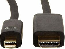 AmazonBasics Mini DisplayPort to HDMI display adapter cable 15' feet