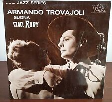 Armando Trovajoli ‎– Ciao, Rudy  Lp 1967 Original Issue EX/EX Jazz Series
