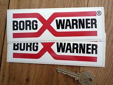 Borg Warner old style rallye course autocollants MG JAGUAR etc