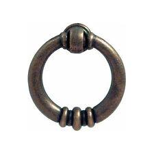 Marseilles Antique brass finish drop ring handle 120.68.110 (Hafele)
