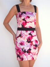 DOLCE & GABBANA Floral Print Stretch Dress 42 NWT
