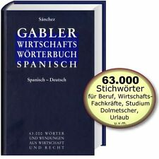 Gabler Wirtschaftswörterbuch Bd.2: Spanisch - Deutsch, Geschäftssprache (Sanchez