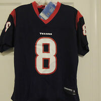 NFL Houston Texans #8 Football Jersey New Womens LARGE