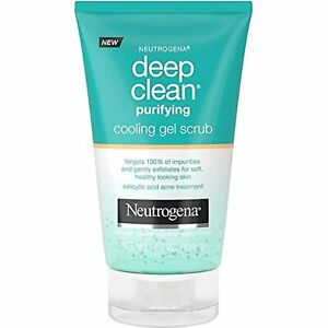Neutrogena Deep Clean Purifying Cooling Gel and Exfoliating Face Scrub