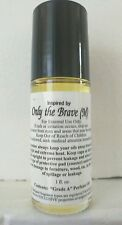 ONLY THE BRAVE Cologne Body Oil for Men (1 oz) TWO DROPS Last All Day!