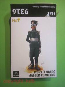 1:32 Figuren HäT #9316 Napoleon Württemberg Jäger Kommando Offizier Trompeter