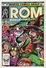 Rom #40 (Mar 1983, Marvel) [Spaceknight] Bill Mantlo Sal Buscema X
