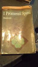 LIBRO I PROMESSI SPOSI MANZONI QUADRIFOGLIO 1992