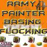 Army Painter Battlefields Miniature Diorama Basing Scenery Flock Tuft