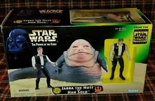Star Wars Jabba The Hutt And Han Solo Potf Kenner 1997