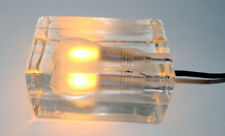 Authentic Harri Koskinen Glass Block Table Lamp for Design House Stockholm - EUC