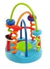 Mary Meyer Baby Boy or Girl OBALL 9 Soft Sliding Spirals Chaser Toy 81509