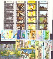 1995 San Marino Annata Completa Nuovi Come Unificato 30 Valori + 1 Bf Integri