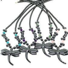 """necklace hematite necklace -Non-Magnetic 18"""" Hematite Necklace with Screw Clasps"""