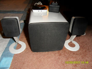 Dell AY410-R 2.1-Channel  PC Computer Satellite speakers with Subwoofer Complete