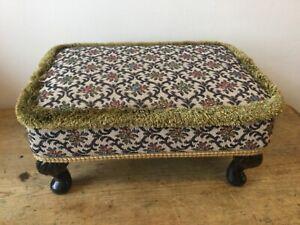 SHERBORNE Pouffes Ltd Tapestry Foot Stool