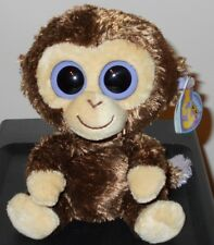 "Ty Beanie Boos ~ COCONUT the 6"" Monkey (2nd UK VERSION 2009 Release) ~ MWMT'S"