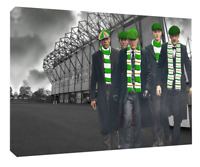 Celtic FC  Poster, print or canvas print. Matchday
