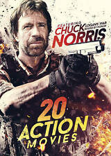 20-Film Action Featuring Chuck Norris, Good DVD, Bruce lee, Steven Seagal, Fred