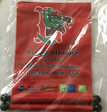 2004 Banner: Lowell Spinners Proud Affiliate of World Champion Red Sox