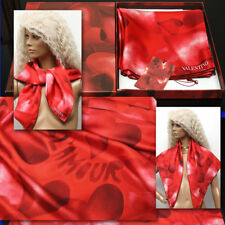 $630 VALENTINO Ladies LAMOUR SILK SCARF w/ Tag & Box