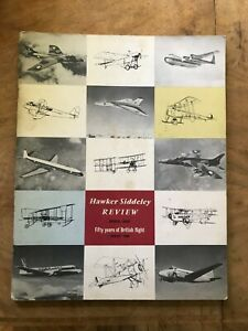 Hawker Siddeley Review Special Issue Fifty Years of British Flight August 1960