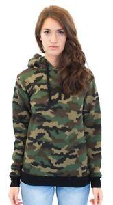 Women's Camo Fleece Pullover Hoody 3515CMO