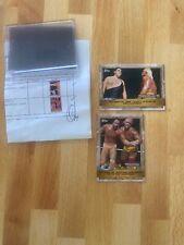 2020 Topps Countdown To WrestleMania 2 Card Bundle~ #1 & #2 PRINT RUN 206!