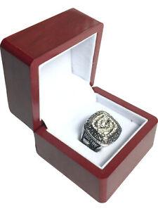 1985 Chicago Bears PAYTON NFL Super Bowl SP Brass Championship Ring & Wood Box