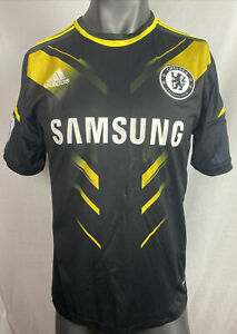 Adidas Chelsea Football Club Short Sleeve Shirt Size M In Good Condition F300