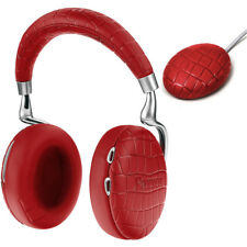 PARROT ZIK 3 BLUETOOTH HEADPHONES RED CROCODILE + QI WIRELESS CHARGER ANC NEW