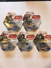 HOT WHEELS STAR WARS BATTLE ROLLERS - THE COMPLETE SET OF 5