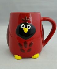 Cute Red Cardinal Coffee Cup Mug