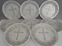 8 Pcs First Holy Communion PAPER PLATES Party ware Table Decorations