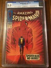 AMAZING SPIDER-MAN #50 7/67 CGC 8.O OWW FIRST KINGPIN! NICE HIGH GRADE KEY BOOK!