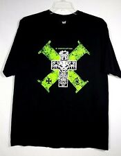 Mens XL Authentic World Wrestling Entertainment Black D-Generation X WWE T Shirt