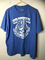 Ripple Junction Men's Grateful Dead Ithaca NY Adult T-Shirt, Heather Royal, 2X