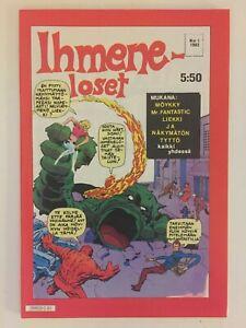 Fantastic Four #1 - Finnish edition NM/M flawless comic book