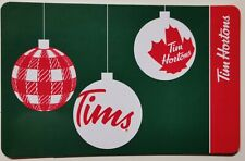 2020 TIM HORTONS  CHRISTMAS TREE ORNAMENTS GIFT CARD ~FREE ship ~NEW/UNLOADED