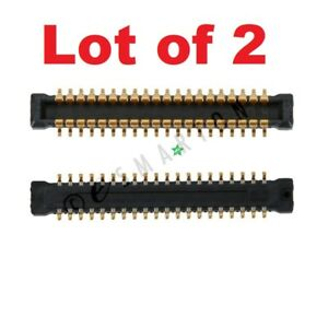 Lot of 2 Samsung Galaxy S | Galaxy Note LCD Connector Main Board PCB Connector