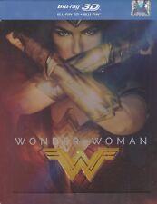 Wonder Woman (2017) 2D + 3D BLU-RAY STEELBOOK AUDIO: ENG. POLISH RUSSIAN CZECH