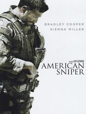 DVD NUOVO SIGILLATO Dvd AMERICAN SNIPER FILM -Clint Eastwood Z